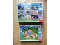 Peppa Pig jigsaw puzzles age 3+