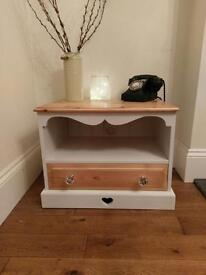 Solid pine wooden TV unit / sideboard