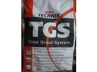 Grout, tile adhesive & floor leveling compound (tiles, tiling, building, renovations, DIY)