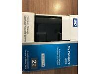 BRAND NEW SEALED WESTERNDIGITAL 2TB BLACK MY PASSPORT ULTRA PORTABLE EXTERNAL HARD DRIVE ( USB 3.0)