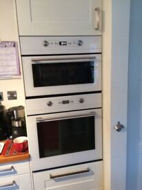 oven and microwave oven, built in , white