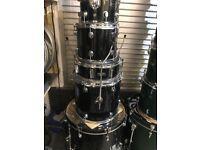 Beginner drum kit for sale.