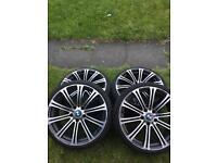 """BMW M3 19"""" wheels"""