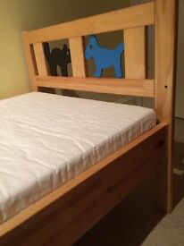 Children's Bed and Matress, from IKEA