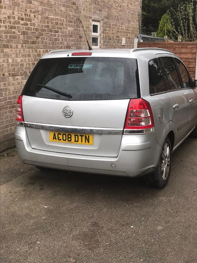 Vauxhall zafria 1.9 turbo diesel
