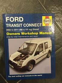 Haynes Manual Transit Connect
