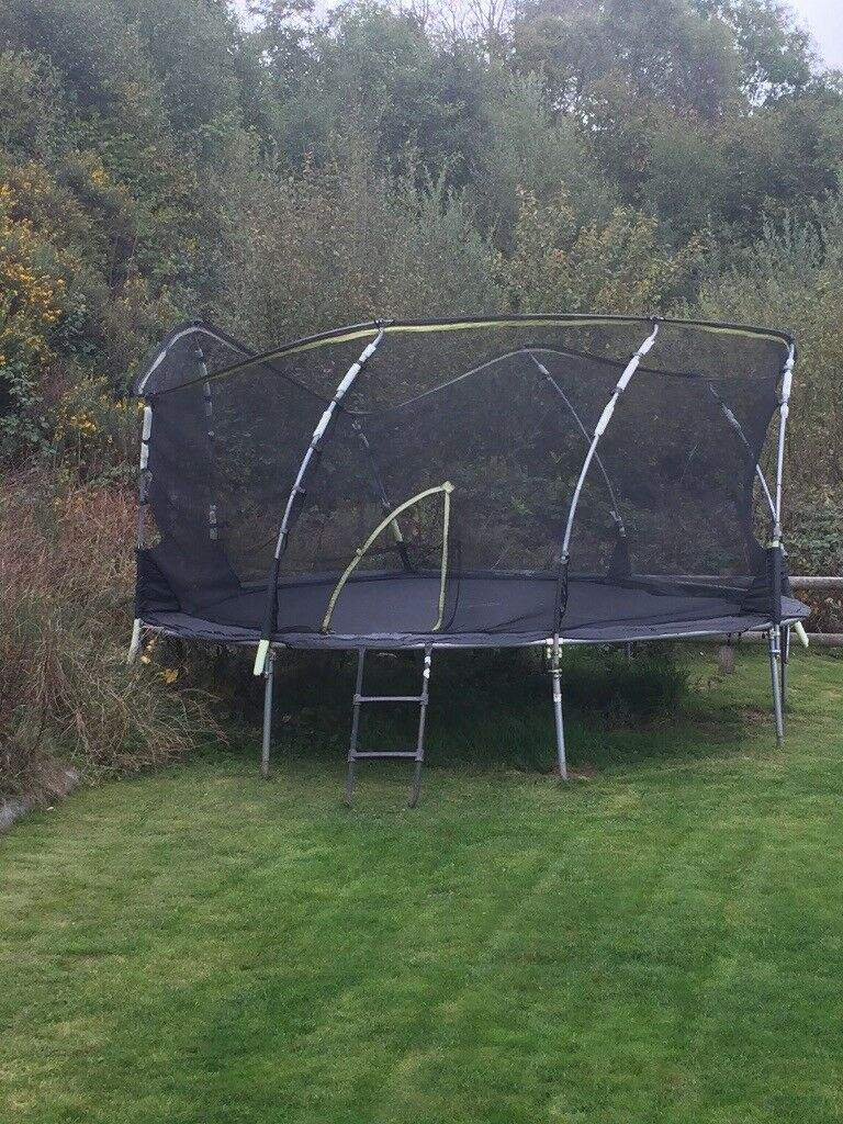 Large Plum Trampoline free to good home