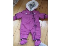 Baby girl Pramsuits size 0-3 months £4 each