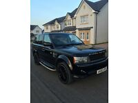 Range Rover Sports 2010 Black