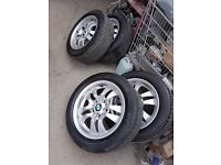 BMW RIM AND TYRE FOR SALE