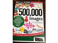 500,000 images on 4x cd