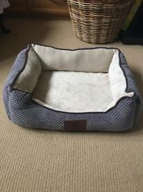 New American kennel club grey dog bed