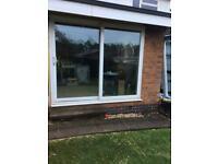 UPVC double glazed sliding doors