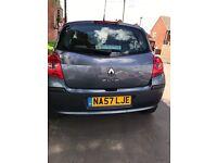 Renault Clio 1.2 turbo low mileage