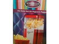 New slush maker & Popcorn Maker