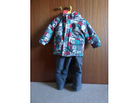 Kids Ski Jacket and Salopettes/Trousers