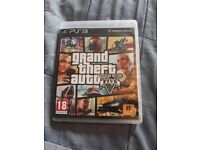 PS3 Grand Theft Auto game.