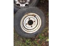 Trailer/caravan wheel 155r12