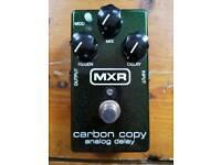 MXR Carbon Copy analogue delay pedal