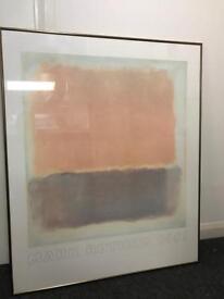 Artwork- Mark Rothko framed