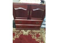 Wood Cabinet - very good condition