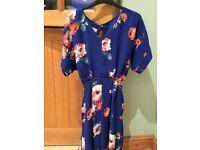Beautiful floral Laura Ashley dress-BNWT Size 8 (paid £70)