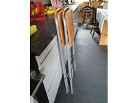 Folding bar stools , 2 itmes