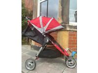 Baby jogger and buggy board