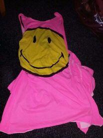 Smiley club / rave dress size 10/12
