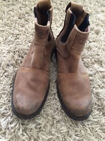 Men's Chelsea rustic Timberland boots size 7.5