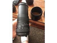 Sigma 100 - 300 mm Zoom Lense Camera House UV 55mm