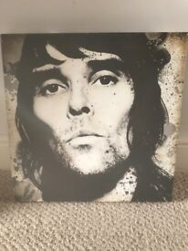 Ian Brown the stone roses canvas