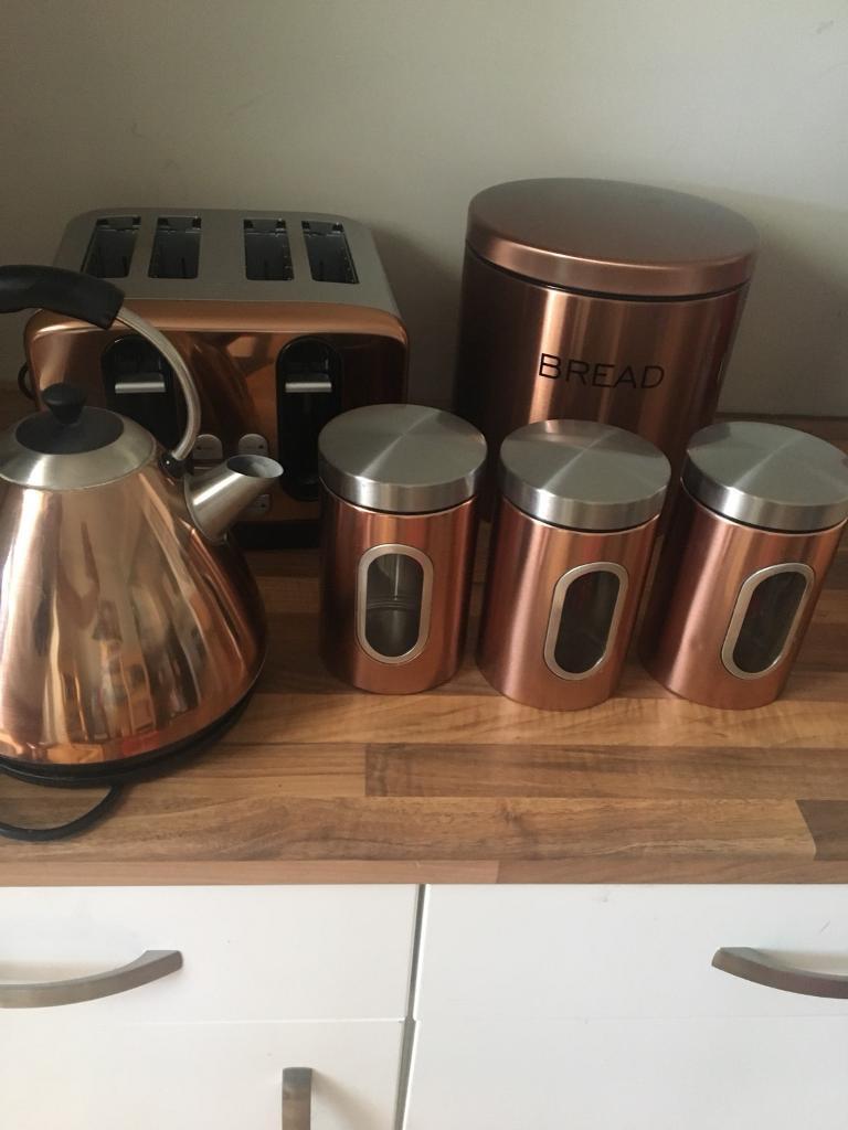 Copper Kitchen Set In Norwich Norfolk Gumtree
