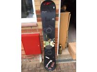 Duo tone snowboard 158cm long