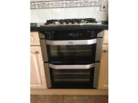 Belling built under electric double oven and Diplomat 4 burner gas hob. VGC. £75