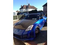 Nissan 350z! Real head turner and sounds amazing. Asking for £10500 OVNO