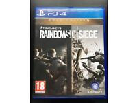 Rainbow six siege (standard edition) PS4 game