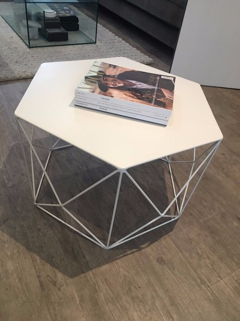 White Wire Marks And Spencer Coffee Tables