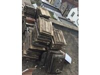 Reclaimed Marley roof tiles. Approx 100