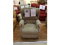 Ex-Display Grande Sized HSL Linton Dual Motor Riser Recliner Chair, Free Delivery*