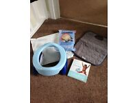 Potette plus, 20 liners, potty book and liner