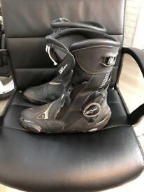 Alpine star SMX PLUS boots in black
