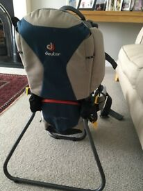 Deuter comfort lite baby carrier