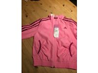 Adidas girls tracksuit aged 3/4 Pink