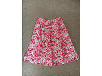 Brand new Cath Kidston floral skirt size 10