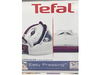 New steam press iron