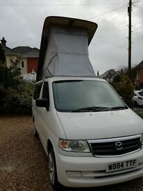 Mazda Bongo campervan - year 2000 - excellent condition