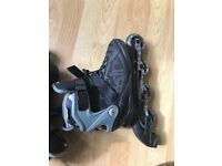 Roller blades - used once. Excellent condition