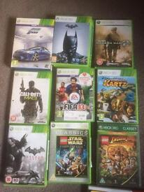 Job lot of xbox360 games.