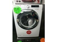 10kg load white hoover 1600 spin washing machine